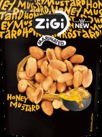 Marinované arašídy s medovo-hořčičnou příchutí