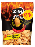 Hot chilli papričky arašídy