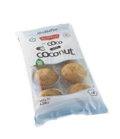 Mini muffiny kokosové