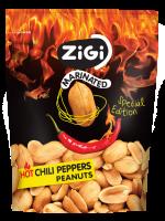 Arašídy s příchutí pálivých chilli papriček 70 g