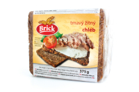 Trvanlivý tmavý žitný chléb