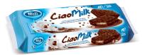 Ciao Milk - snack s mléčnou náplní a kakaovou polevou