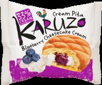 Karuzo s cheesecake-borůvkovou náplní