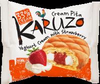 Karuzo s jogurtovo-jahodovou náplní