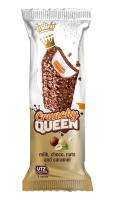 Crunchy Queen mléčný snack s karamelem 35 g
