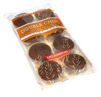 Mini muffiny čokoládové