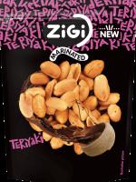 Marinované arašídy s příchutí teriyaki