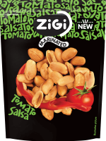 Marinované arašídy s příchutí rajčatové salsy